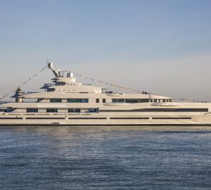 Newly-Launched 107m Benetti Giga Yacht FB277 for Exclusive Charter in Summer 2019