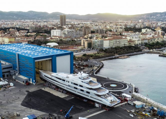 Benetti FB277 mega yacht of 107m