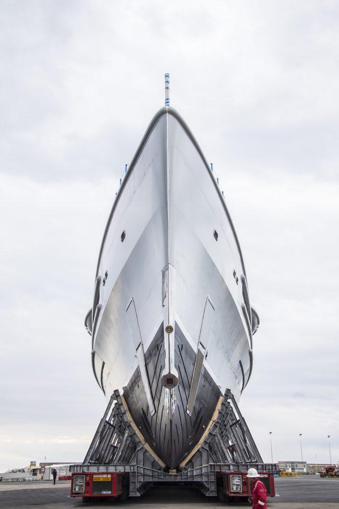 Benetti to launch mega yacht FB277
