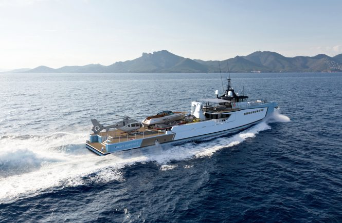 DAMEN yacht support vessel YS 5009