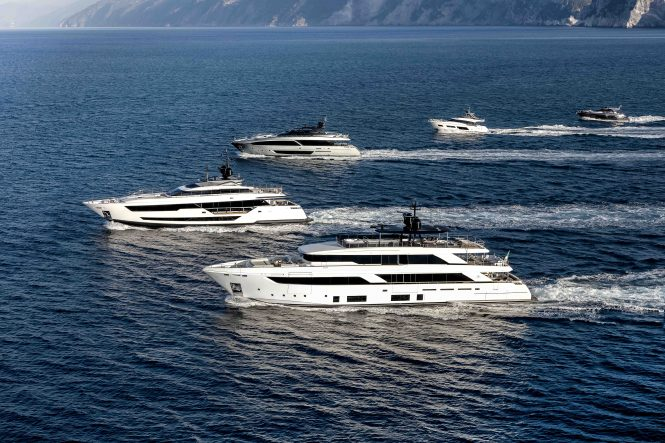 FERRETTI GROUP FLEET 2019