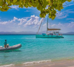 GOOD VIBRATIONS luxury catamaran offering reduced charter rate in the Virgin Islands