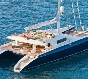 Last-minute special for 44m catamaran HEMISPHERE in the South Pacific