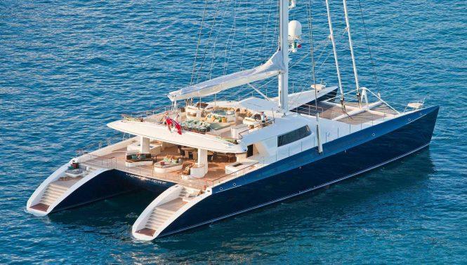 Luxury catamaran yacht HEMISPHERE