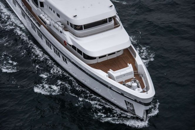 Feadship delivers ice-class expedition yacht Promise — Yacht Charter