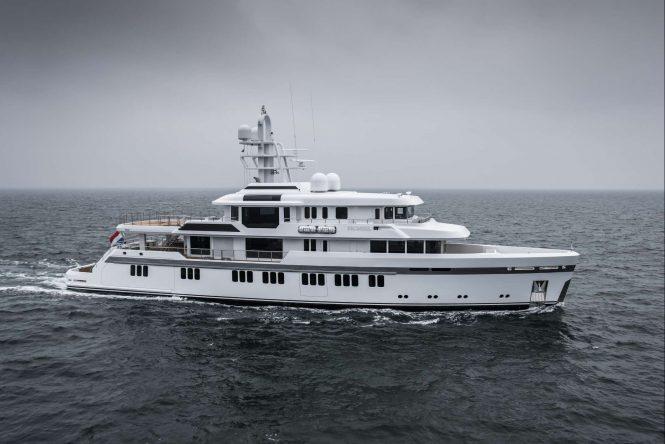 Luxury motor yacht PROMISE - Photo credit Feadship
