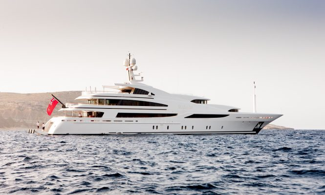 Luxury motor yacht ST DAVID