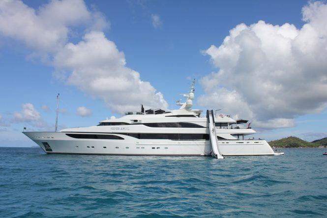 Luxury yacht SILVER ANGEL