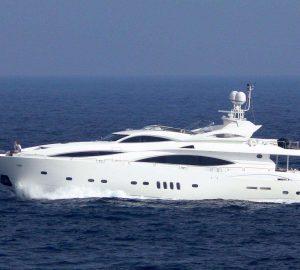 Eastern Mediterranean luxury charter yacht Ti Amo renamed Mi Alma