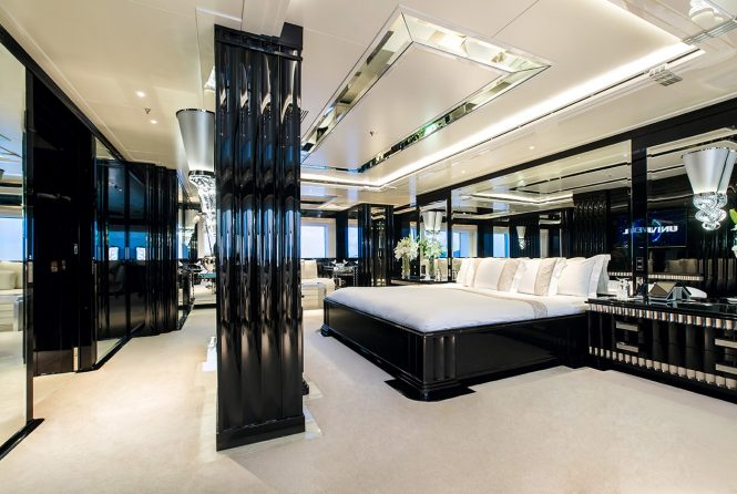Magnificent master stateroom