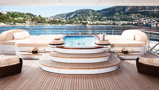 Massive Jacuzzi pool