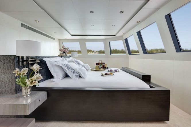Master suite with fabulous views