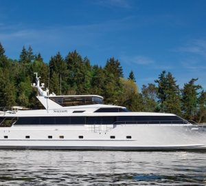 Newly-refitted 31m BLACKWOOD (ex Serendipity) available for Alaska Yacht Charter Vacations
