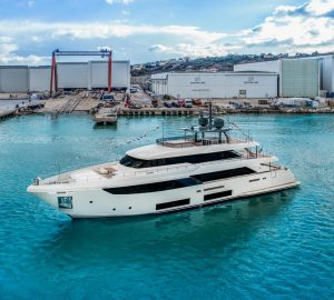 Ferretti Group's Custom Line launch superyachts MARIA THERESA and DILLY DALLY