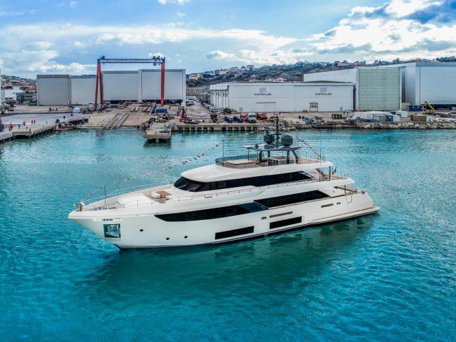 NAVETTA 33 MARIA THERESA superyacht at launch