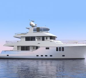 From design to delivery with the Nordhavn 80 motor yacht