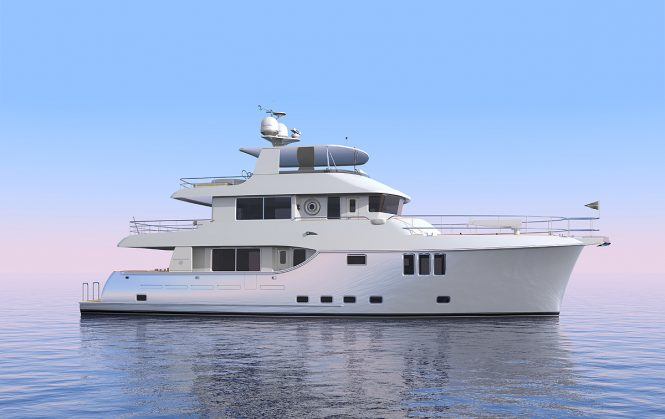 Nordhavn 80 motor yacht