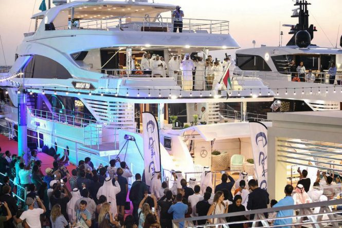 Royal Opening Ceremony of the Dubai International Boat Show in 2018