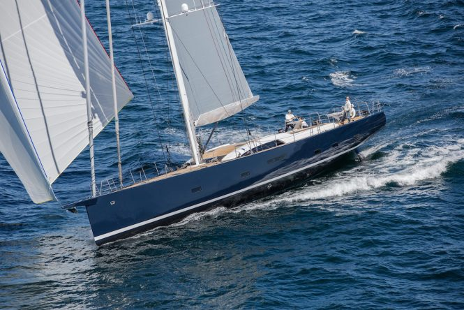 Sailing yacht SATISFACTION