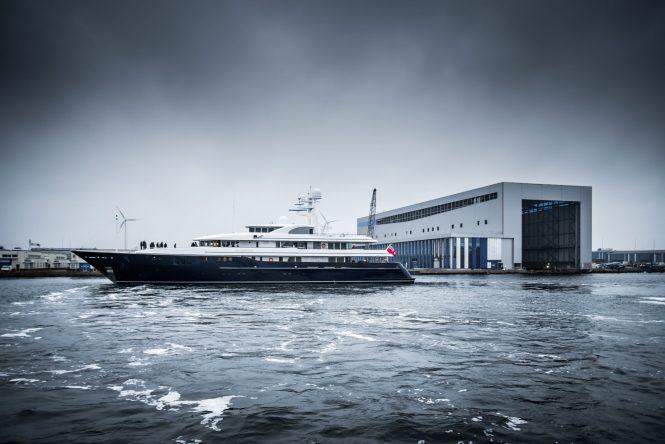 Superyacht ARCHIMEDES - Photo © Feadship