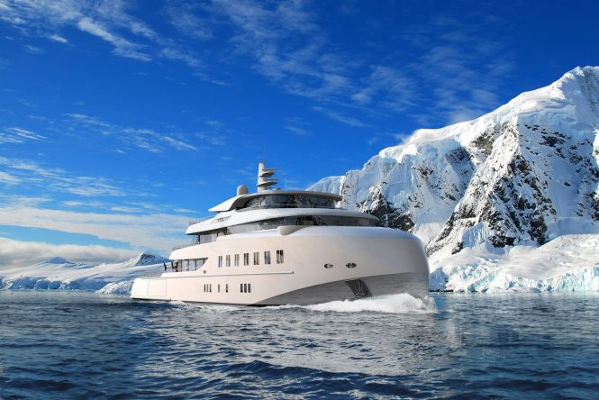 expedition yacht concept HAWK RANGER 68M