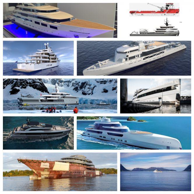 2019 superyachts