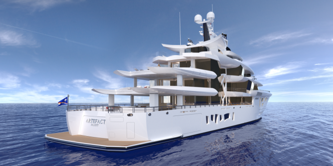 ARTEFACT superyacht by Nobiskrug