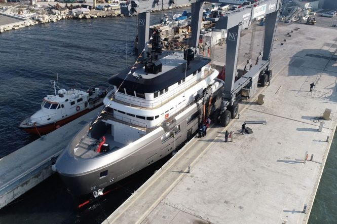 AUDACE at launch in Ancona