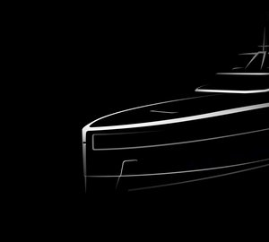 Baglietto reveals lines for Horacio Bozzo-penned superyacht Hull 10232