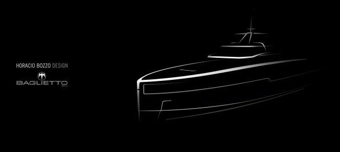 Baglietto motor yacht hull 10232 teaser image