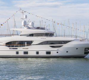 Benetti Delfino 95' yacht EURUS launched