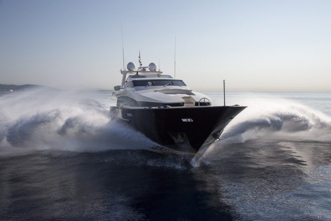 Cappuccino available during Monaco Grand Prix 2019 week for charter