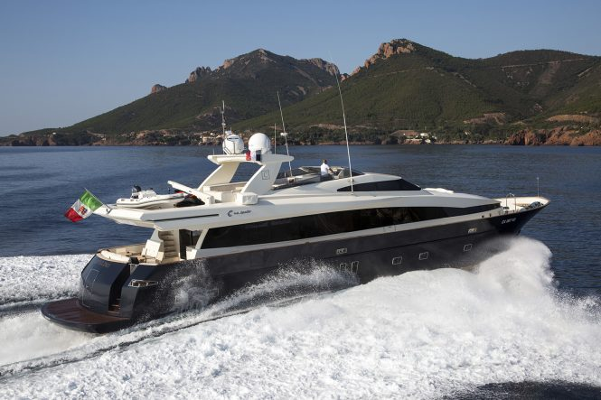 Cappuccino offering speed, comfort and luxury