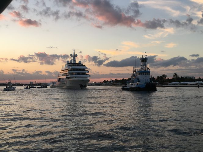 DANAH VOYAGER superyacht - Photo © Kirilloff & Associates.