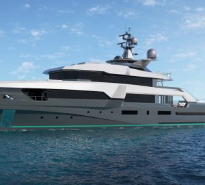The three young yacht designers behind the K47 TAXILA superyacht naval platform from Floating Life
