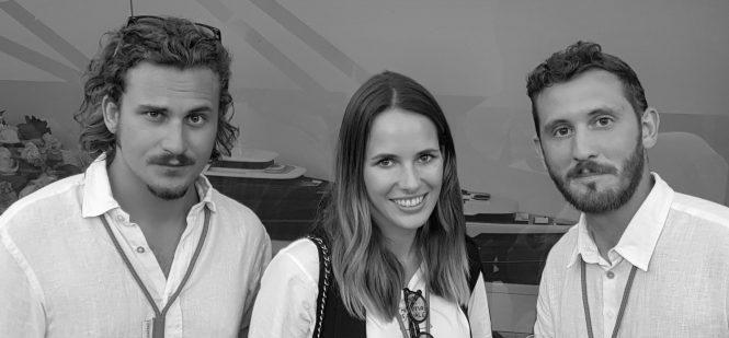 Federica Fino, Alberto Frulla and Francesco Viola of Studio Satura