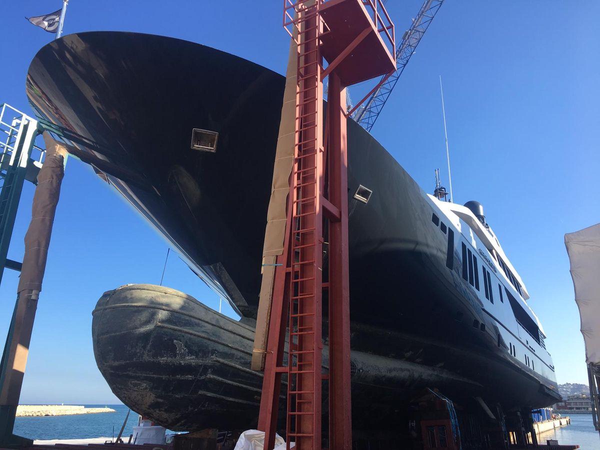 Grayzone motor yacht