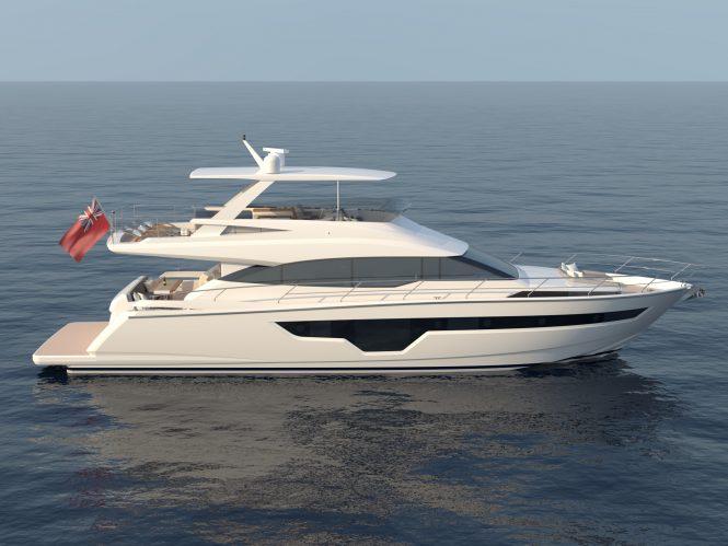 Johnson 70 yacht