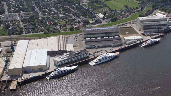 Lurssen shipyard is one of the possible yards for the 125m Project GAJA - the yard name is still to be revealed however