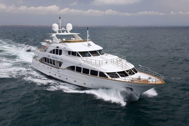 Luxury charter yacht PURE BLISS built by Benetti shipyard in Italy