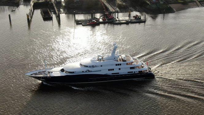 Luxury mega yacht C2 - Photo © DrDuu