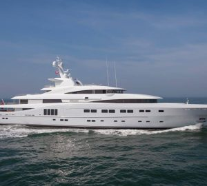 82m Abeking & Rasmussen Superyacht SECRET new to Mediterranean charter market