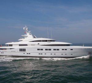 82m Abeking & Rasmussen Superyacht SECRET new to Mediterranean charter market