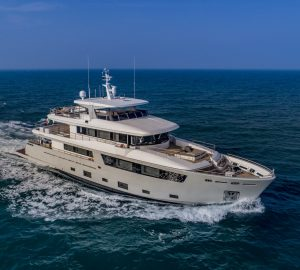 CdM superyacht 'Mimi La Sardine' wins 'Best Interior Design Award' before entering the Mediterranean charter market