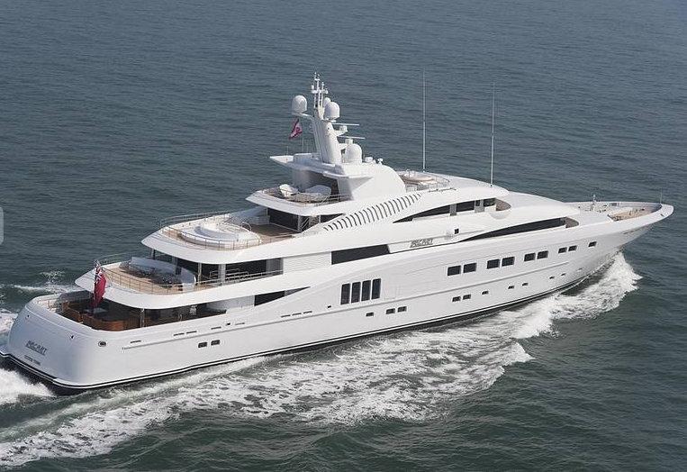 Luxury yacht SECRET