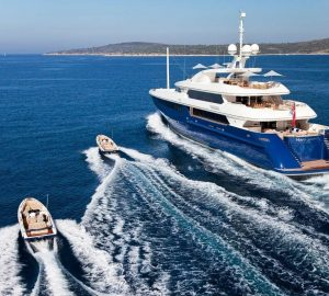 25% off Caribbean luxury yacht charter vacations with 62m MARY-JEAN II