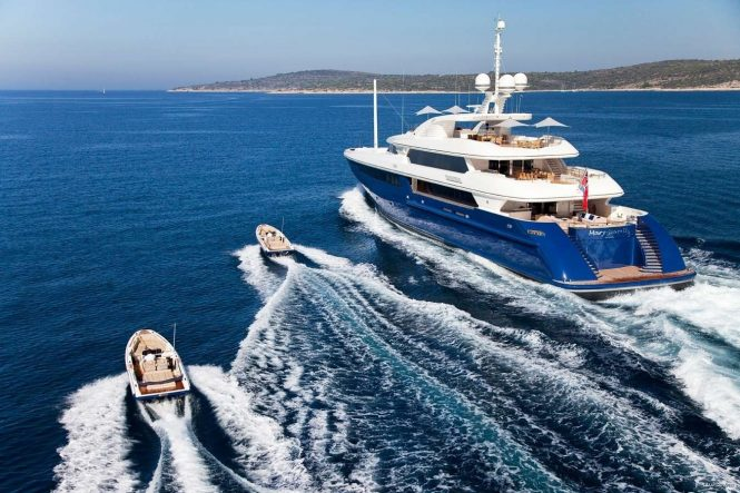 MARY-JEAN II superyacht offering a great selection of water toys