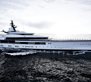 109-metre mega yacht BRAVO EUGENIA delivered to Owners