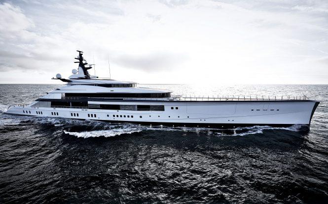 Mega Yacht BRAVO EUGENIA - Credits Francisco Martinez