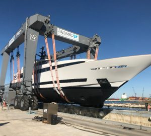 ISA Yachts announces successful launch of ISA Alloy 43 superyacht Agora III